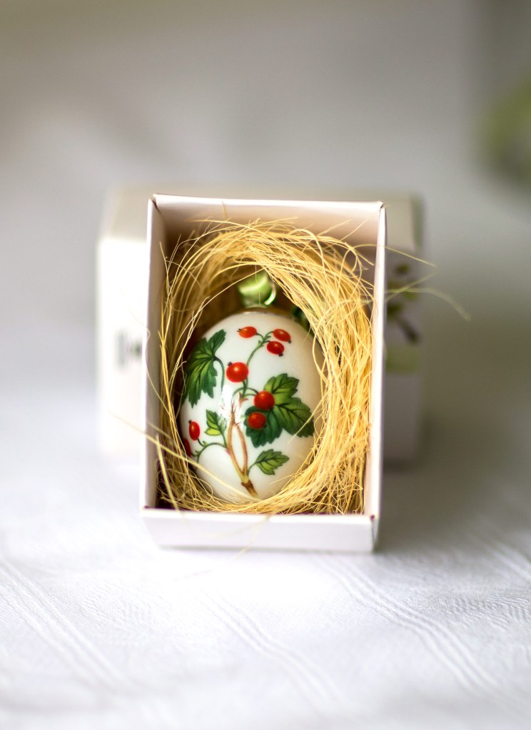 Royal Copenhagen easter egg