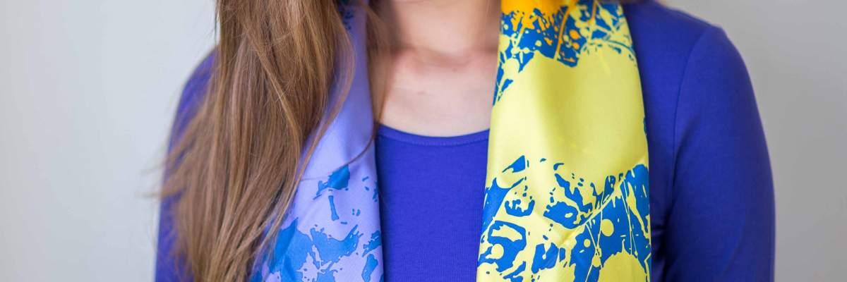 Hermes, Cheval Surprise Remix, Dimitri Rybaltchenko, carre, scarf, knotting, howtowearascarf, Эрмес, платок, карре, Рыбальченко, как красиво завязать платок