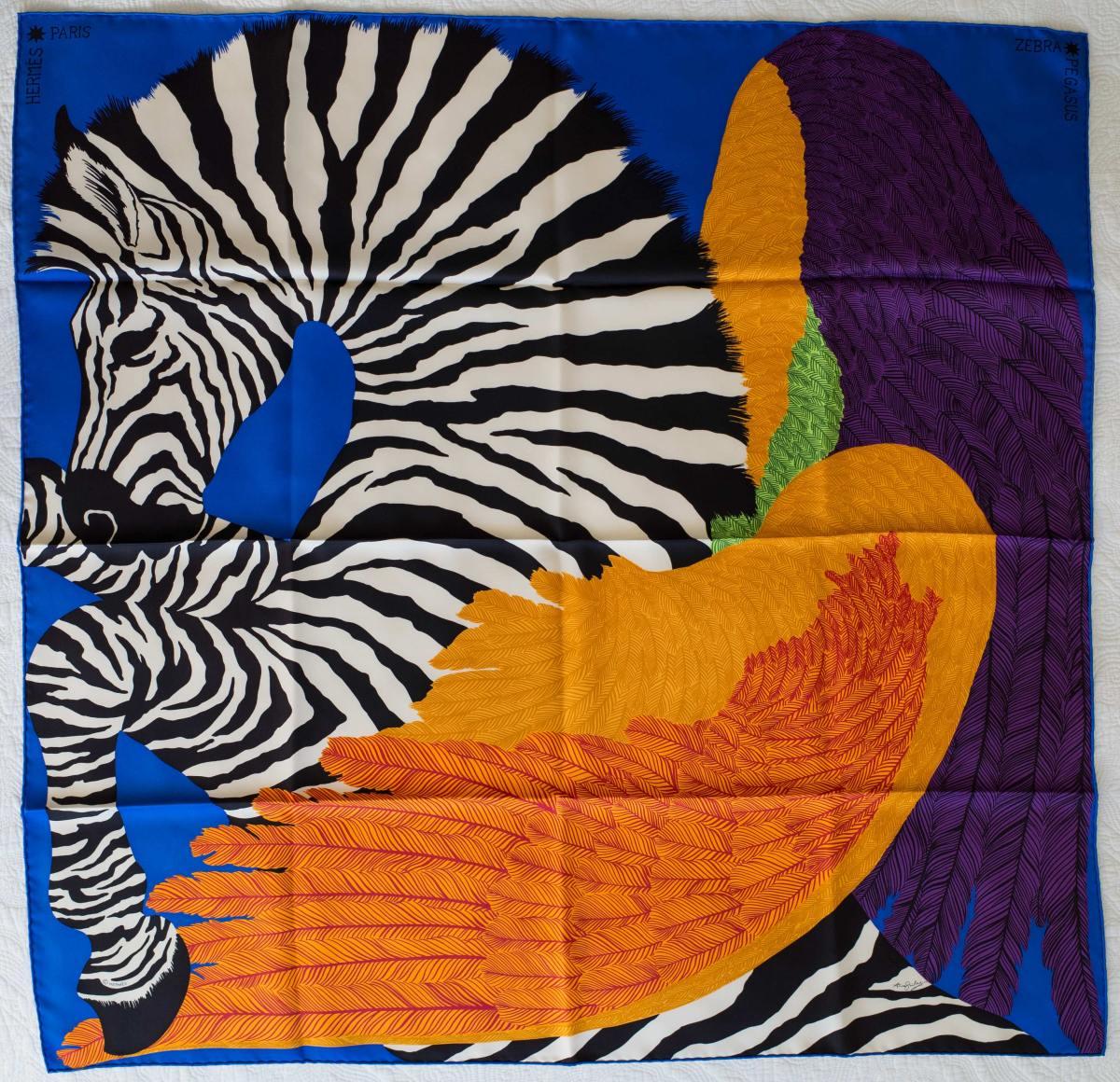 Hermes, Hermes carre, foulard, scarf, how to wear a scarf, Zebra Pegasus, как красиво завязать платок, Эрмес