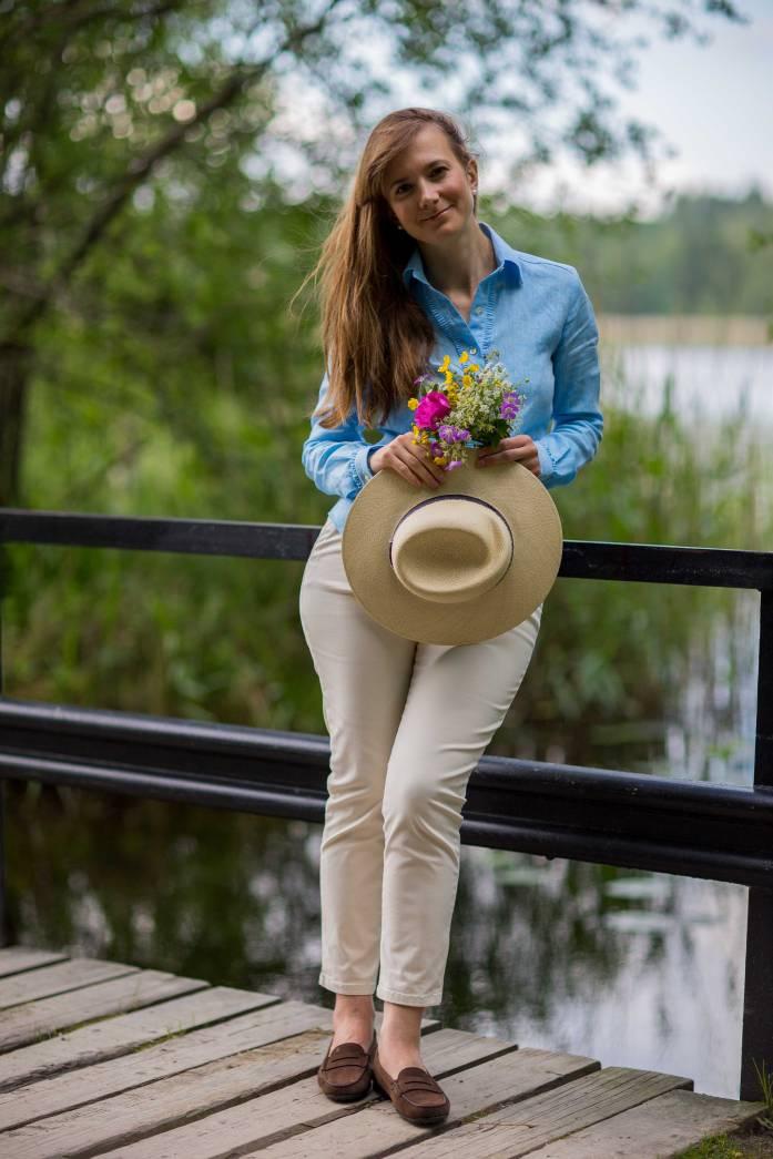 Maison Michel, Virginie, straw hat, wild flowers, шляпа Maison Michel, MM, Tod's gommino