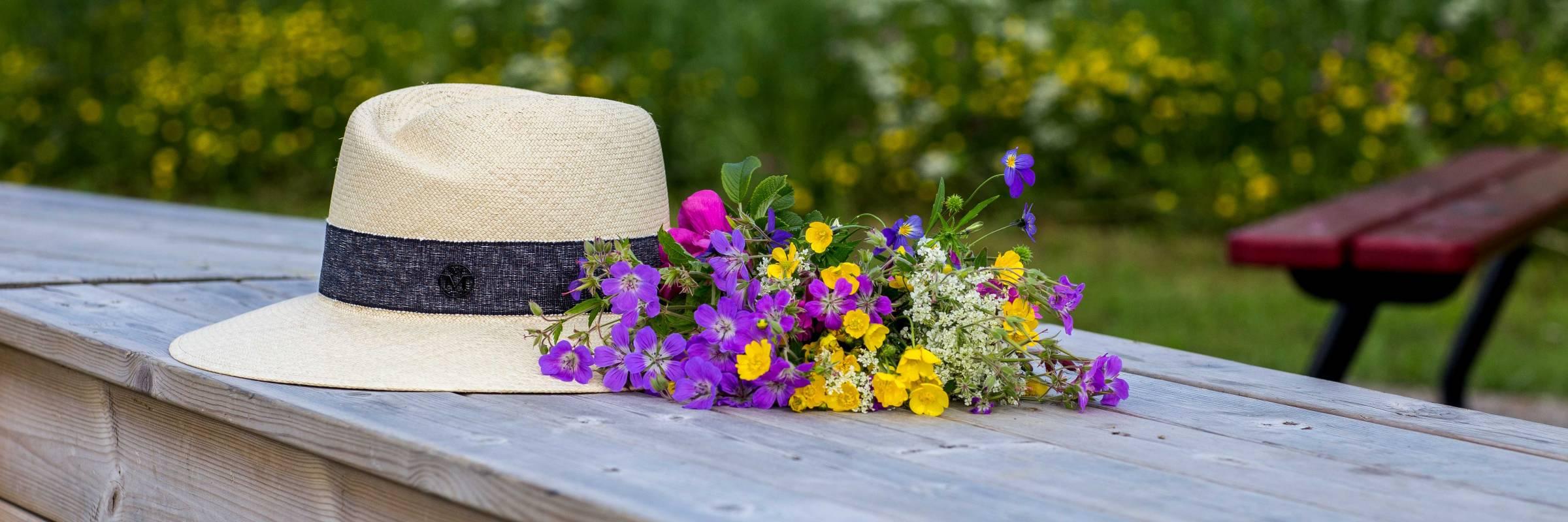 пиксельной картинки лето шляпа и цветы ваша фотосессия