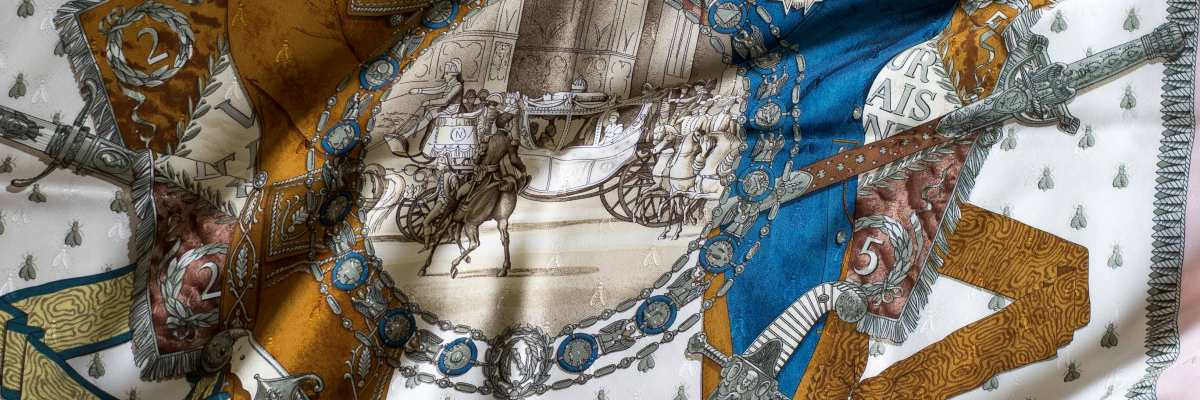 Napoleon, philippe ledoux, Hermes scarf, carre, knot, knotting, tutorial, hermes carre, Hermes Schal, эрмес, платок, карре, как красиво завязать платок, how to wear a scarf