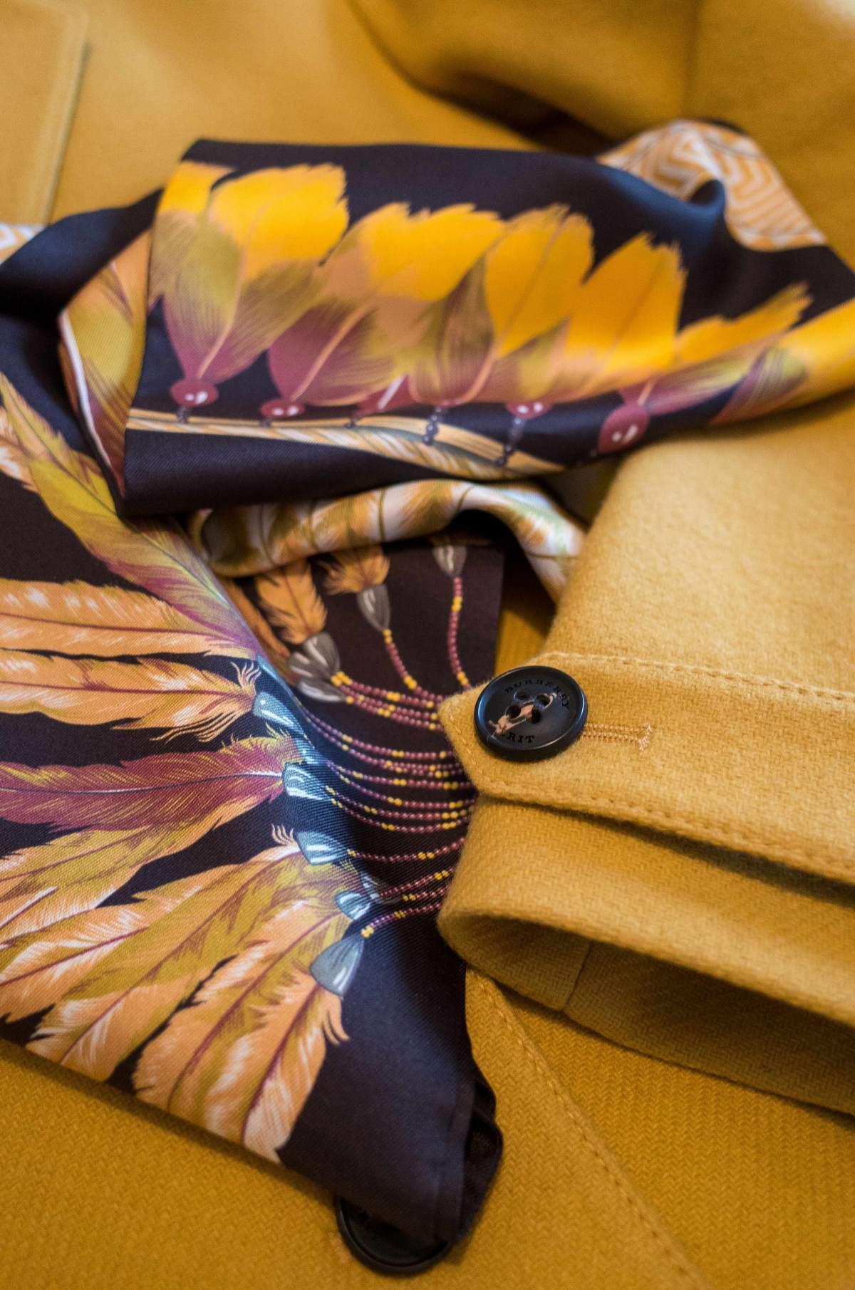 Hermes maxi twilly, Hermes scarf, Hermes Brazil, Burberry coat